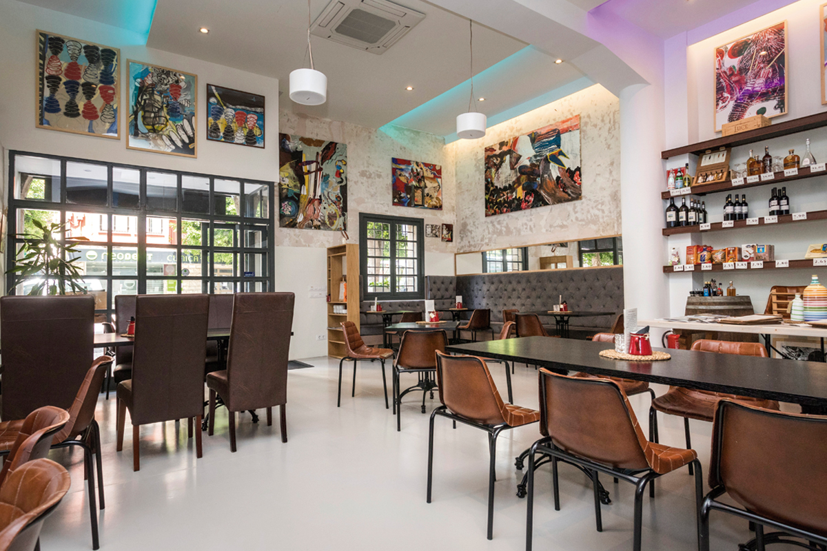 Sandro Restaurant, Flavours From Italy In 3 Dimensions